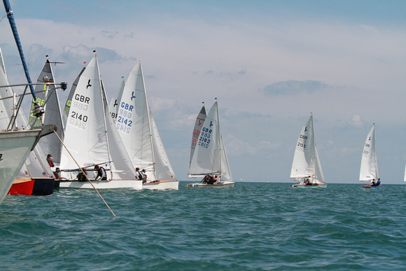 Hornets and Kestrels competing in Brixham Devon